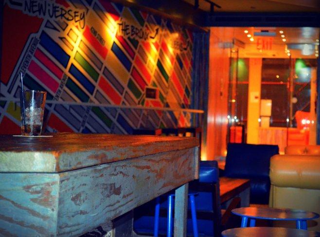 A cute little bar/lounge!